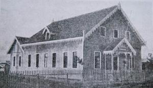 Primer edificio del Seminario de la IELB
