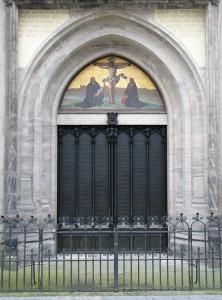 Puerta de la Schlosskirche