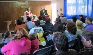 Culto en Misión Maule, Constitución, Chile