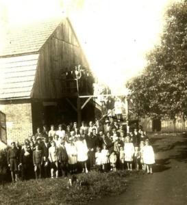 Primer templo luterano en Paraguay - Pastor Dilley
