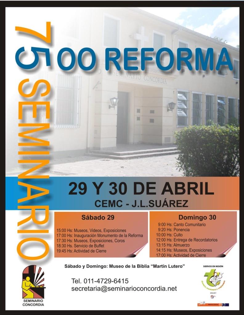 Celebración 29 y 30 de Abril en el Seminario Concordia